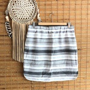 Ann Taylor •Jacquard casual skirt•